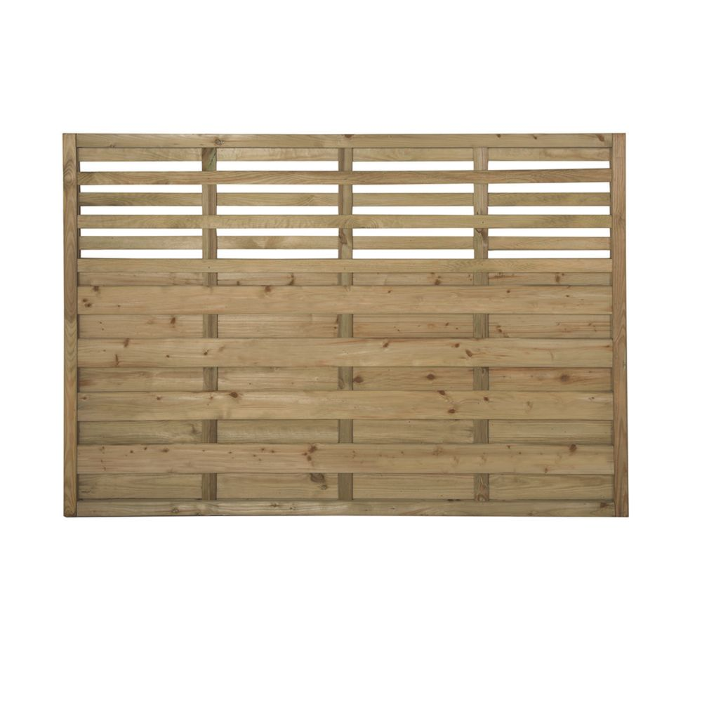 Image of Forest Kyoto Fence Panels 1.8 x 1.2m 4 Pack