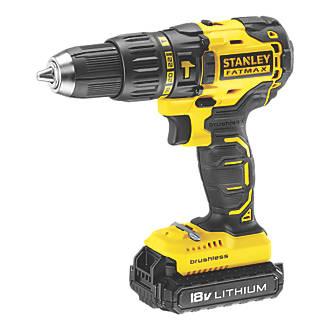 Image of Stanley FatMax KFMCD628D1K-GB 18V 2.0Ah Li-Ion Brushless Cordless Hammer Drill