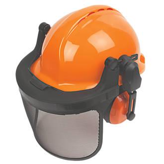 Image of Centurion Concept Vented Forestry Helmet Kit Orange