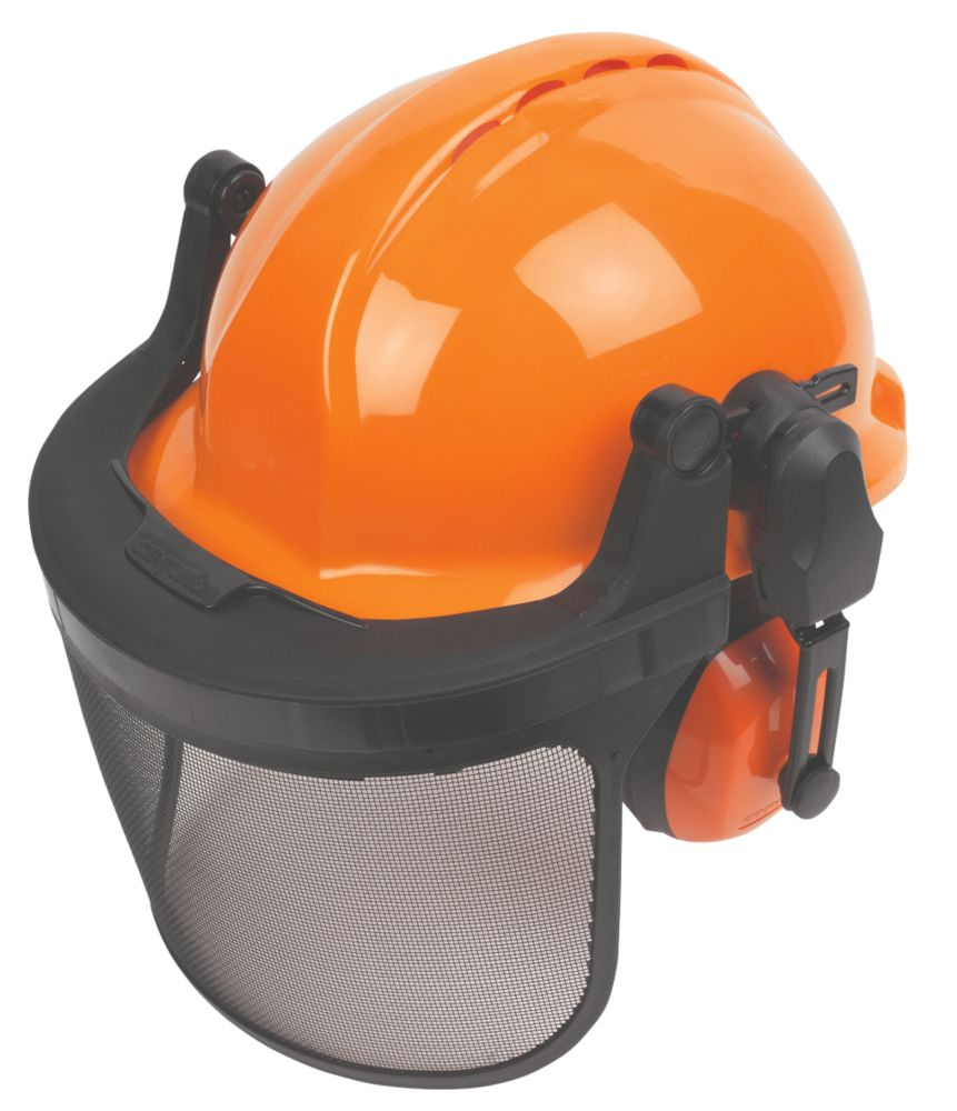 Image of Centurion Concept Vented Forestry Helmet Kit Orange