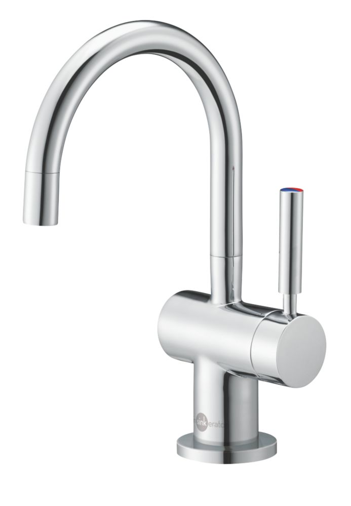 Image of InSinkErator HC3300 Filtered Hot Water Mono Mixer Kitchen Tap Chrome