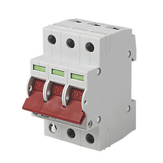 Image of Wylex 125A TP Mains Switch Disconnector