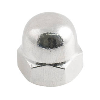 Image of Easyfix A2 Stainless Steel Dome Nuts M6 100 Pack