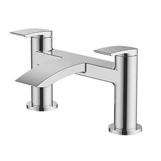 Image of Watersmith Heritage Wye Bath Filler Tap