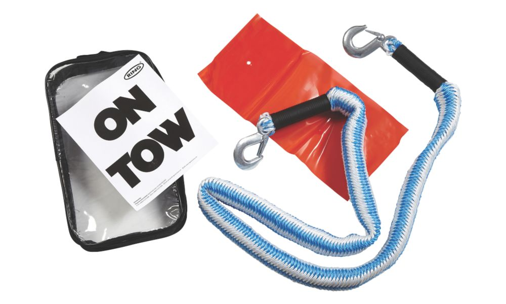 Image of Ring 2-Tonne Elasticated Tow Rope 4m