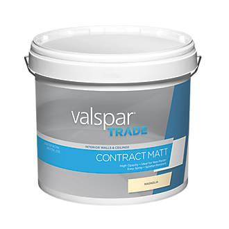 Image of Valspar Trade Matt Emulsion Magnolia 12Ltr