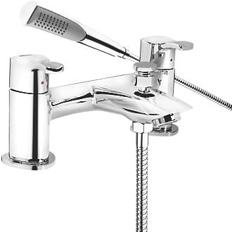 Image of Bristan Capri Deck-Mounted Bath Shower Mixer Tap