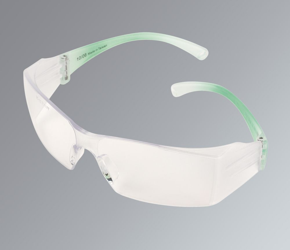 Image of 3M 2810 Clear Lens Anti-Mist Safety Specs