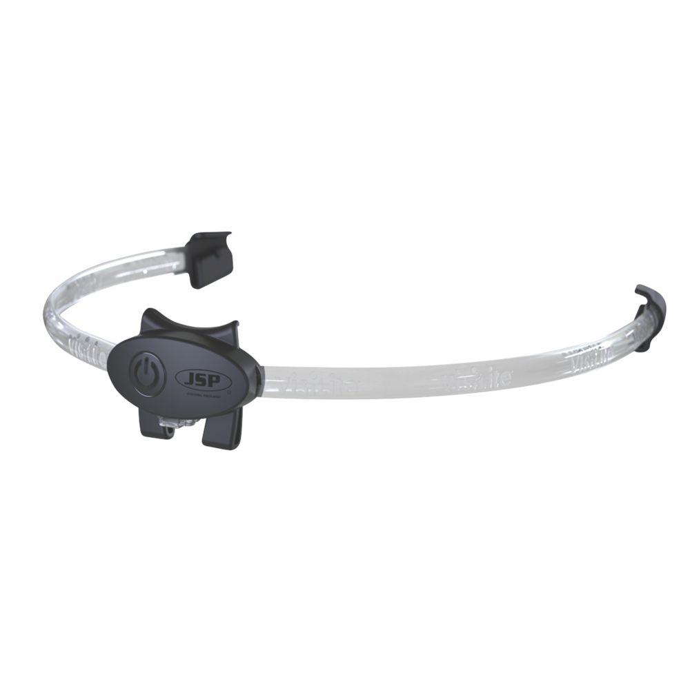 Image of JSP Visilite Helmet Lighting System Black / Clear