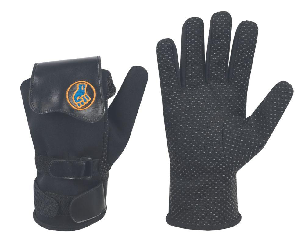 Image of Gripeeze Tradesman Specialist Handling Gloves - Left Hand Black X Large