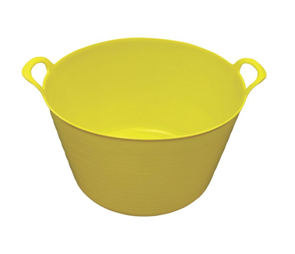 Image of NDC Polythenes Flexi-Tub Yellow 70Ltr