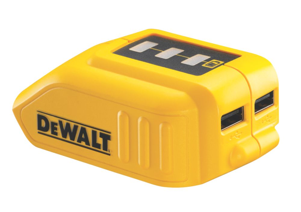 Image of DeWalt DCB090-XJ USB Charging XR Battery Adaptor
