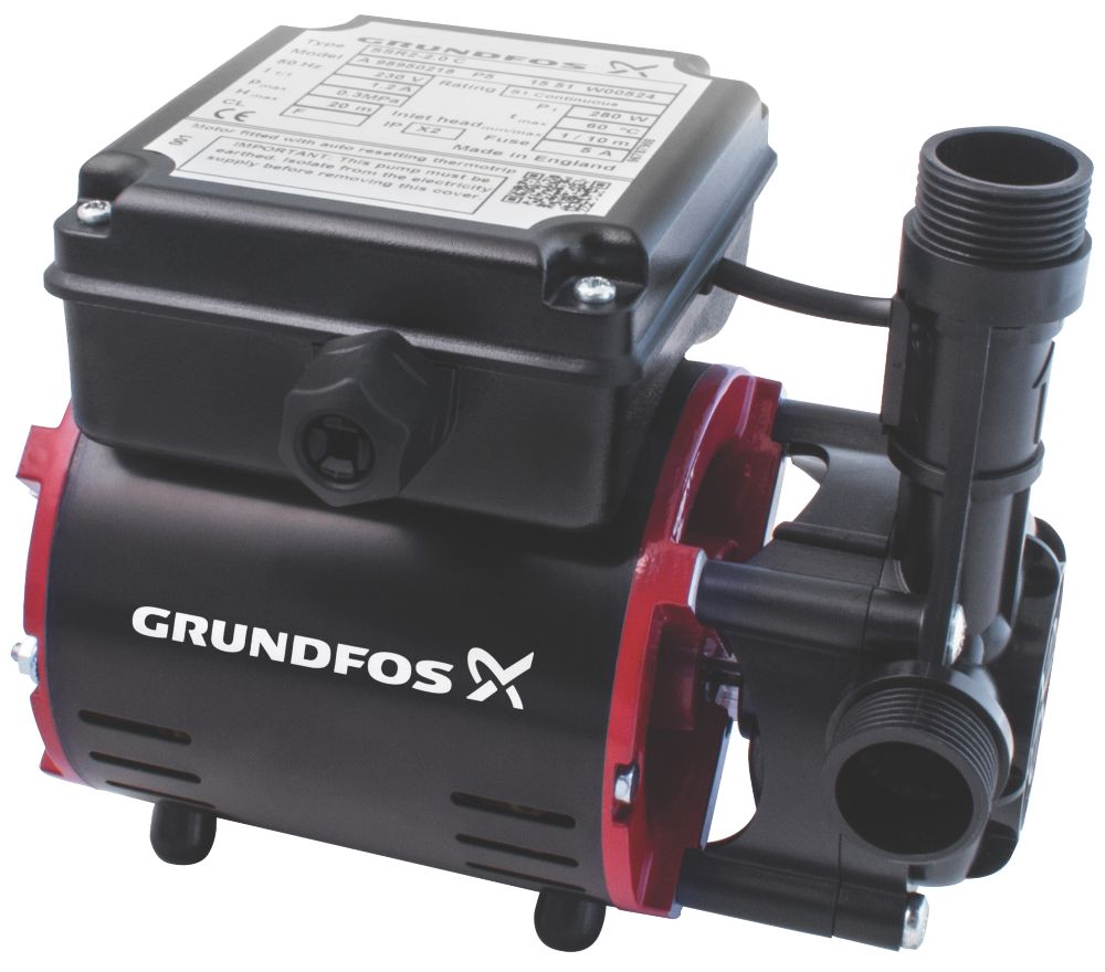 Image of Grundfos 98950218 Regenerative Shower Pump 2.0bar