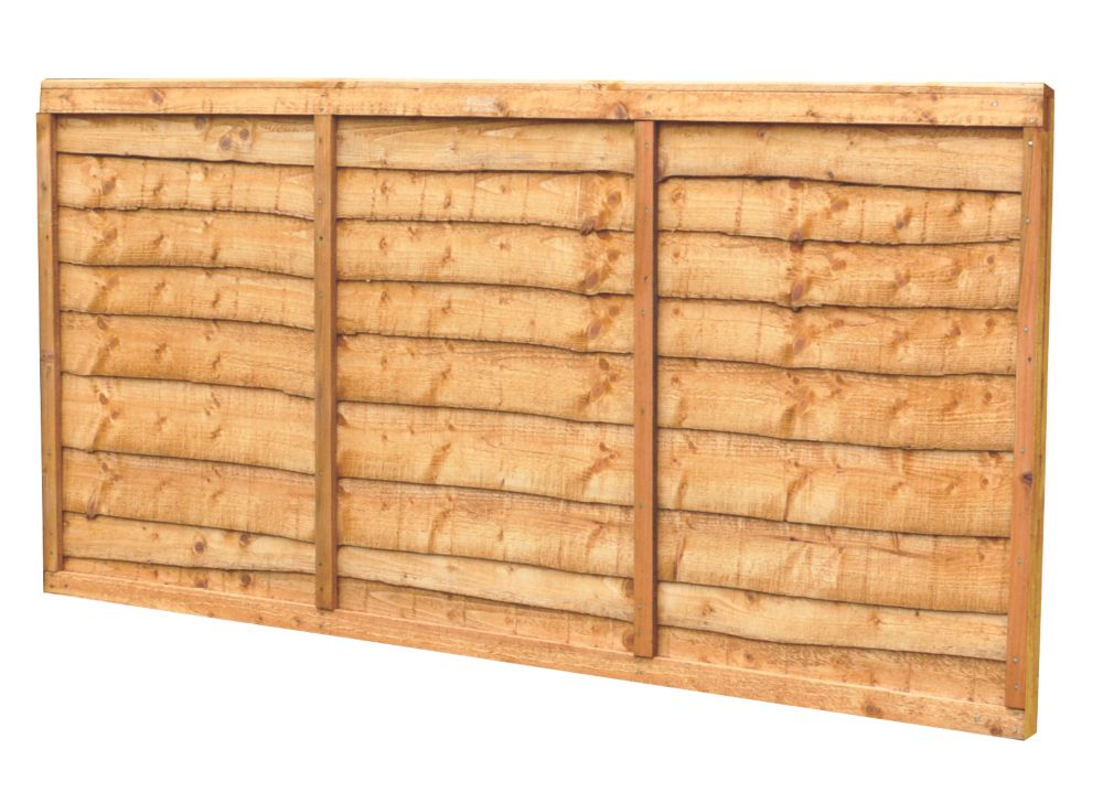 Image of Forest Closeboard Panel Fence Panels 1.82 x 0.9m 20 Pack