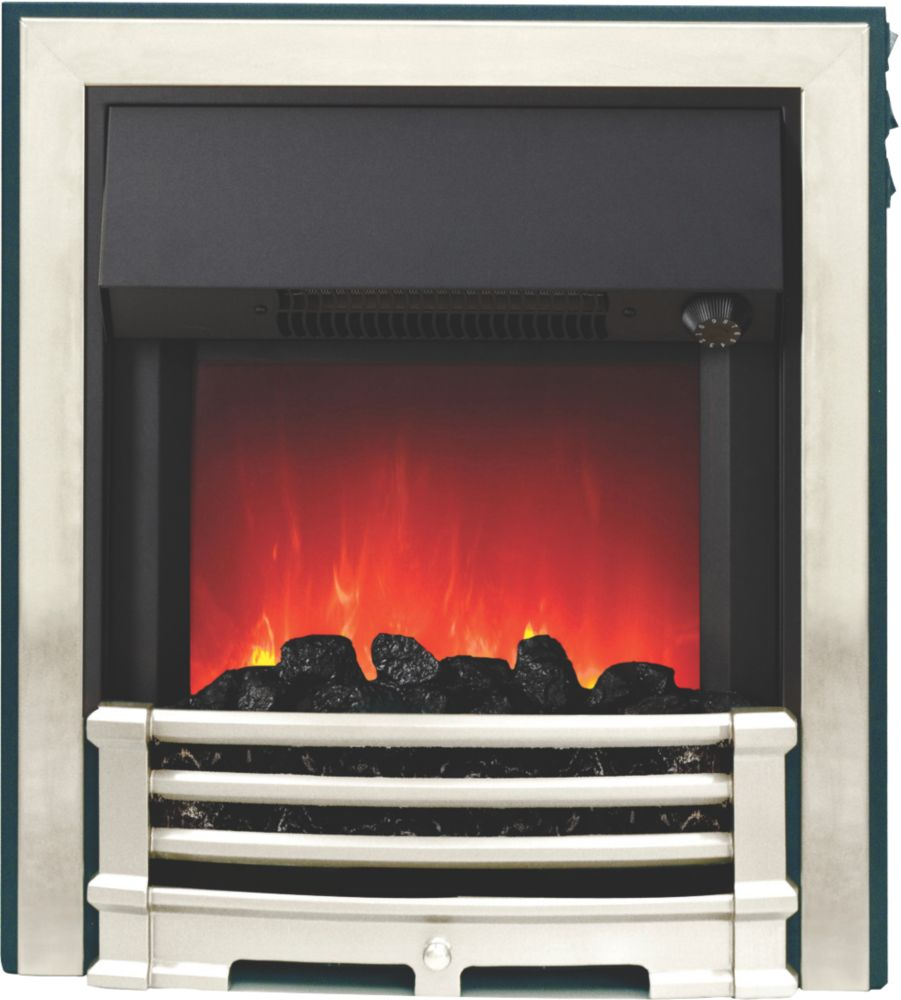 Image of Be Modern Aspen Black / Chrome Switch Control Inset Electric Fire