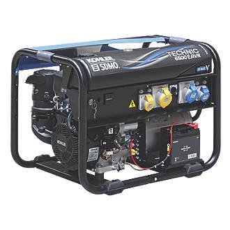 Image of SDMO Technic 6500 E AVR 6500W Generator 110 / 230V
