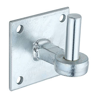 Image of Hardware Solutions Hook on Plate Galvanised 120 x 105 x 100mm