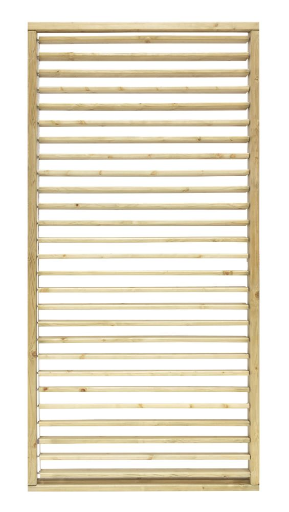 Image of Grange Timber Adjustable Screen Panel Natural 1.8 x 0.9m 3 Pack