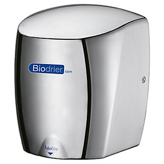 Image of Biodrier Biolite High Speed Low Energy Hand Dryer Chrome 0.65-0.9kW