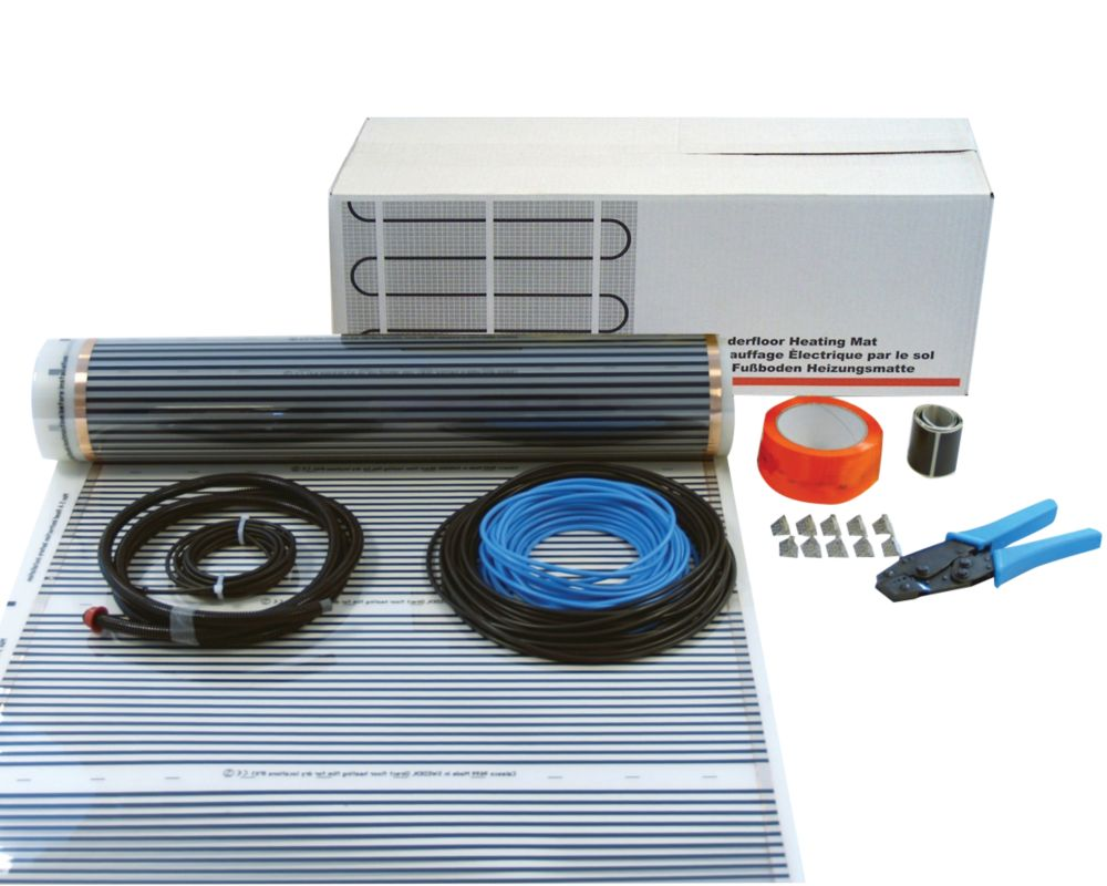 Image of Klima Underfloor Heating Foil Kit for Wooden Floor 10m