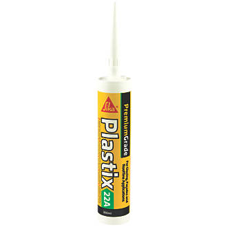 Image of Sika Sika Plastix uPVC Sealant Translucent 300ml