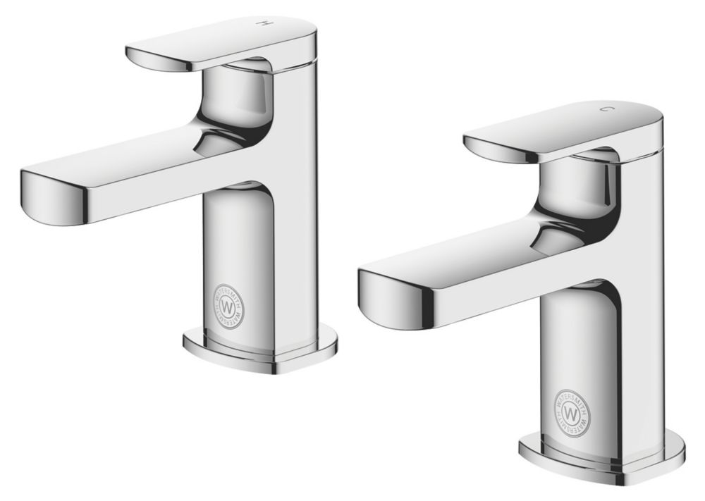 Image of Watersmith Heritage Clyde Bath Taps Pair