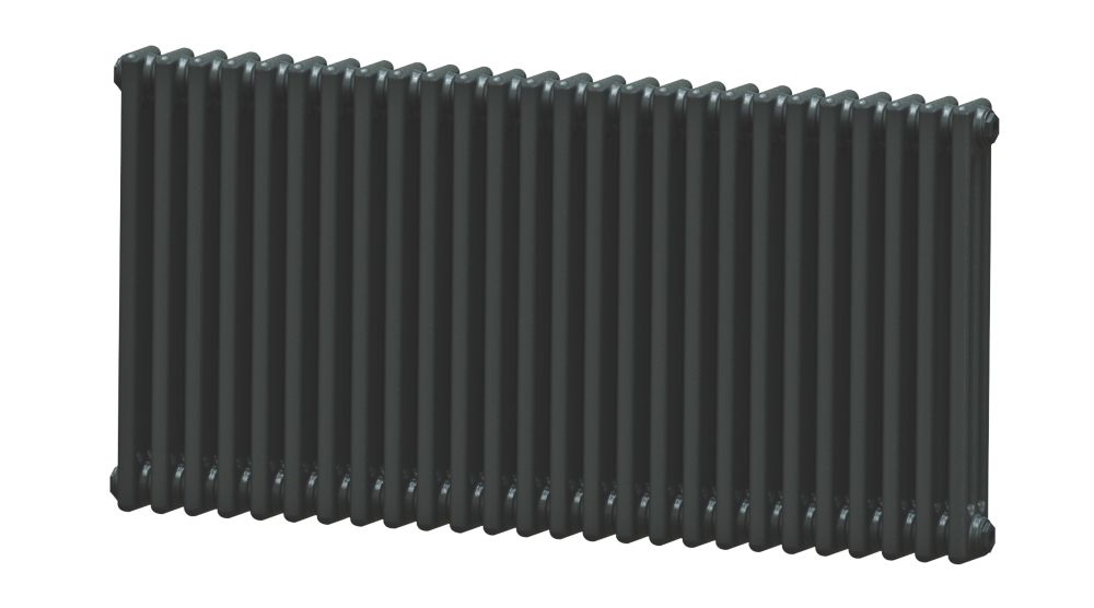 Image of Acova 3-Column Horizontal Radiator 600 x 1226mm Volcanic