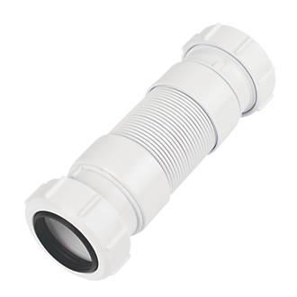 Image of McAlpine FLEXICON4 Flexible Connector White 40 x 157-242mm