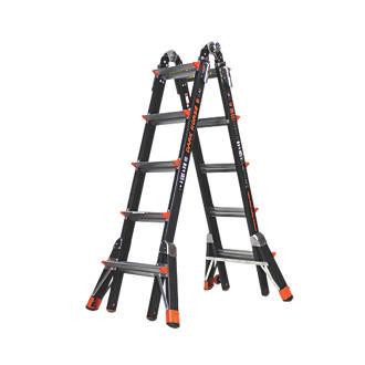 Image of Little Giant Dark Horse 2-Section Fibreglass Multipurpose Ladder 5.3m