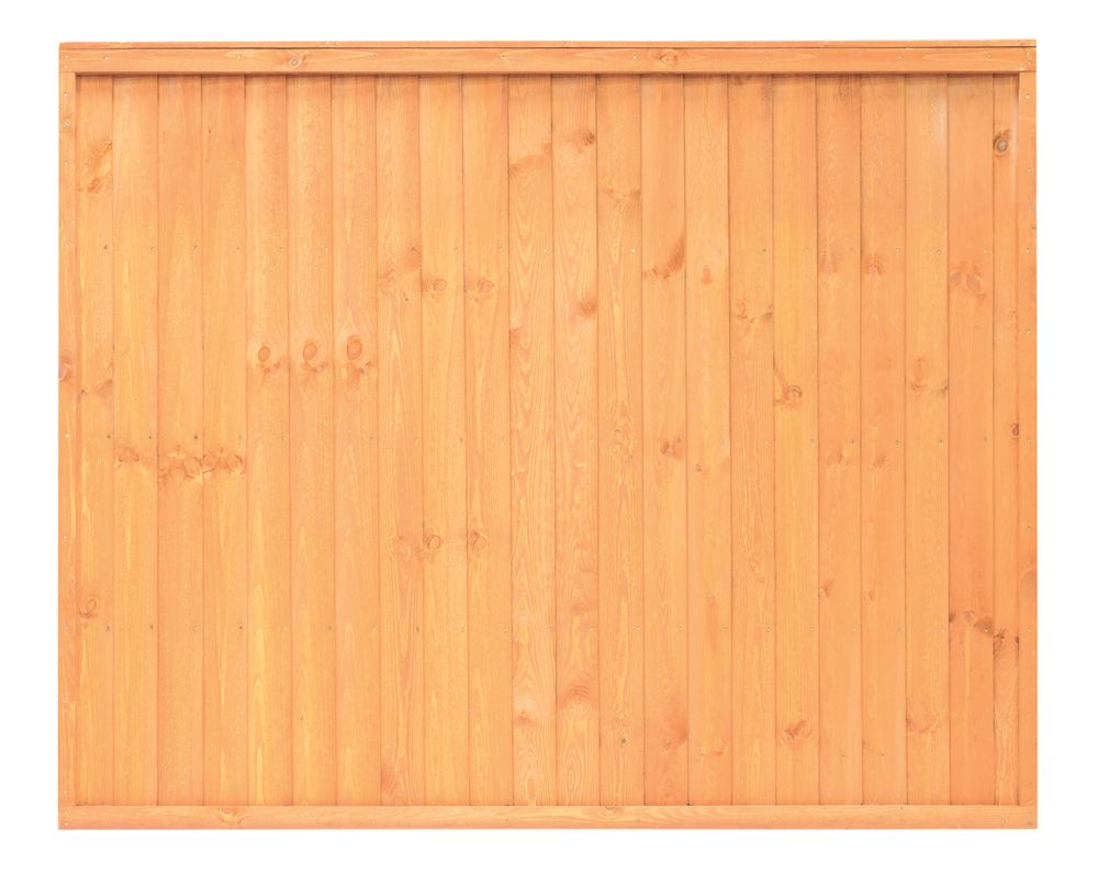 Image of Grange Closeboard Fence Panels 1.83 x 1.5m 4 Pack