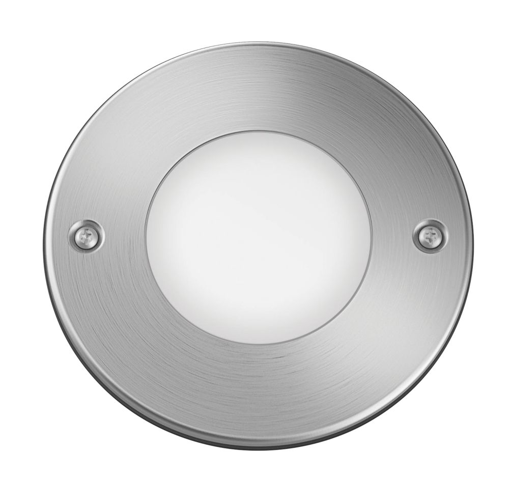 Image of Philips Moss Recessed Ground Spotlight Stainless Steel 4W
