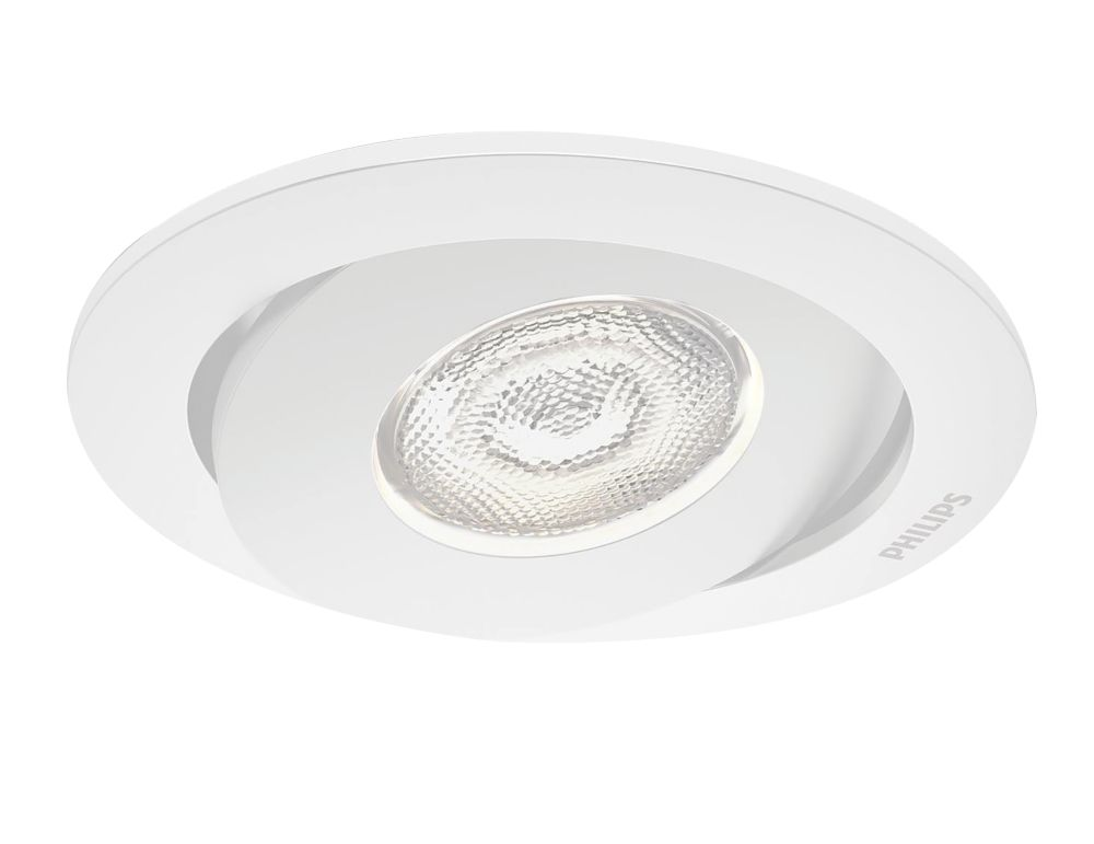 Image of Philips Adjustable Asterope LED Downlight 440lm White 4.5W 230V