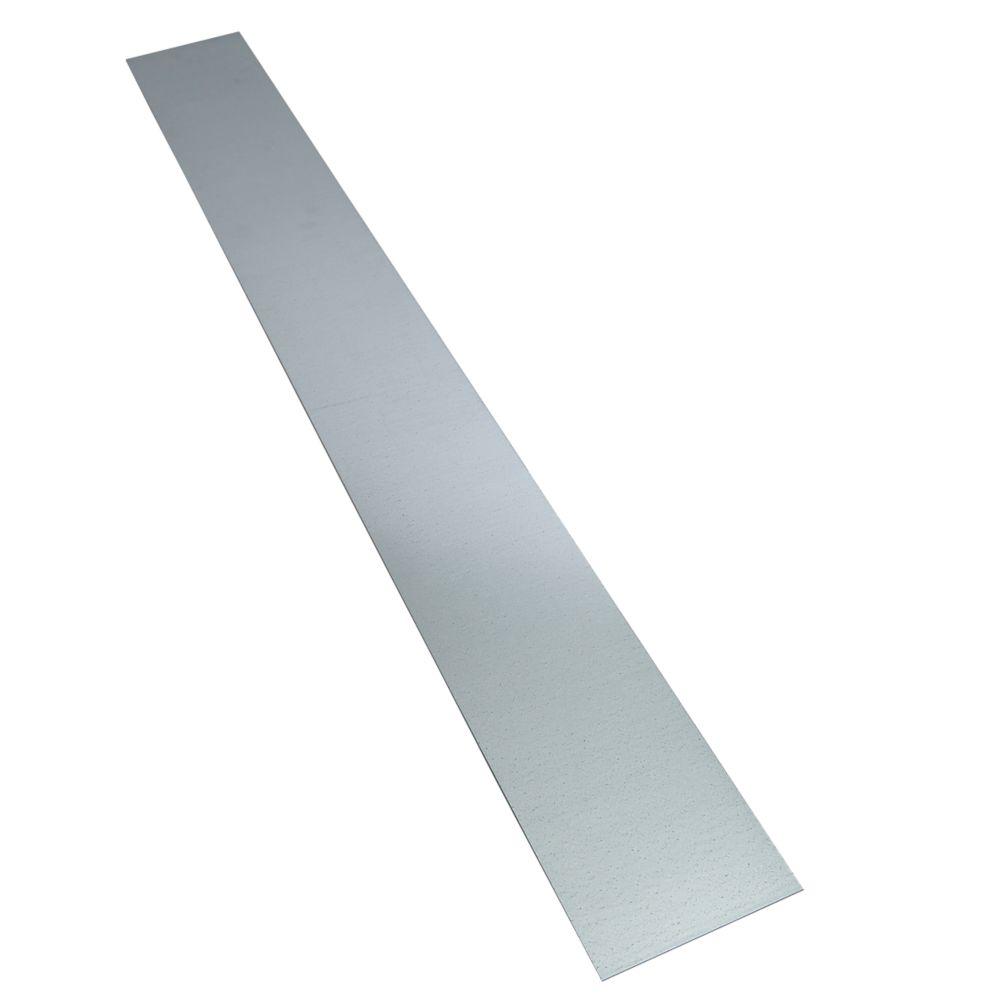 Image of Alfer Metal Sheet Galvanised Steel 120 x 1000mm
