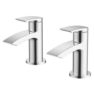 Image of Watersmith Heritage Wye Bath Taps Pair