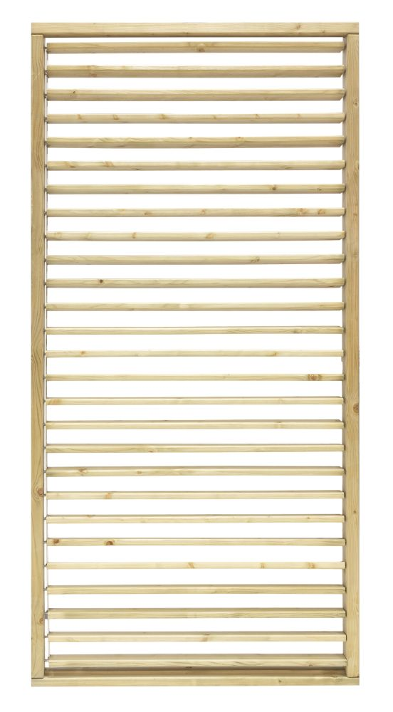 Image of Grange Timber Adjustable Screen Panel Natural 1.8 x 0.9m 4 Pack