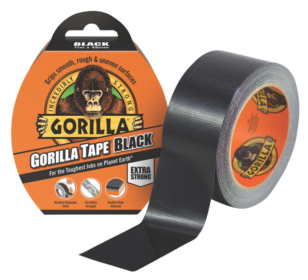 Image of Gorilla Glue Cloth Tape 48 Mesh Black 48mm x 11m
