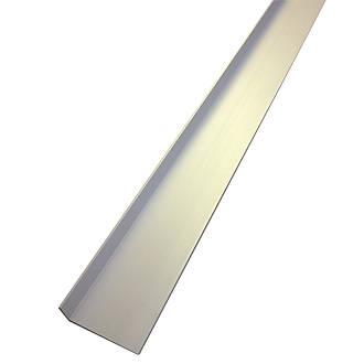 Image of Alfer Anodised Aluminium Angle 40 x 15 x 1000mm