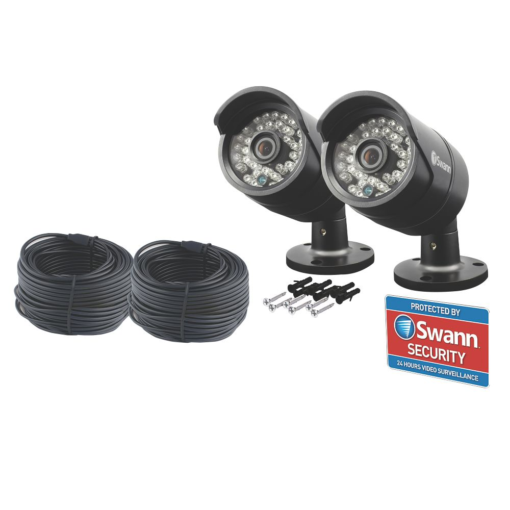 Image of Swann SWPRO-H850PK2 CCTV Cameras 2 Pack