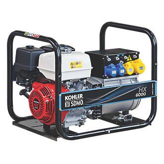 Image of SDMO HX6000-2 5500W Generator 115 / 230V