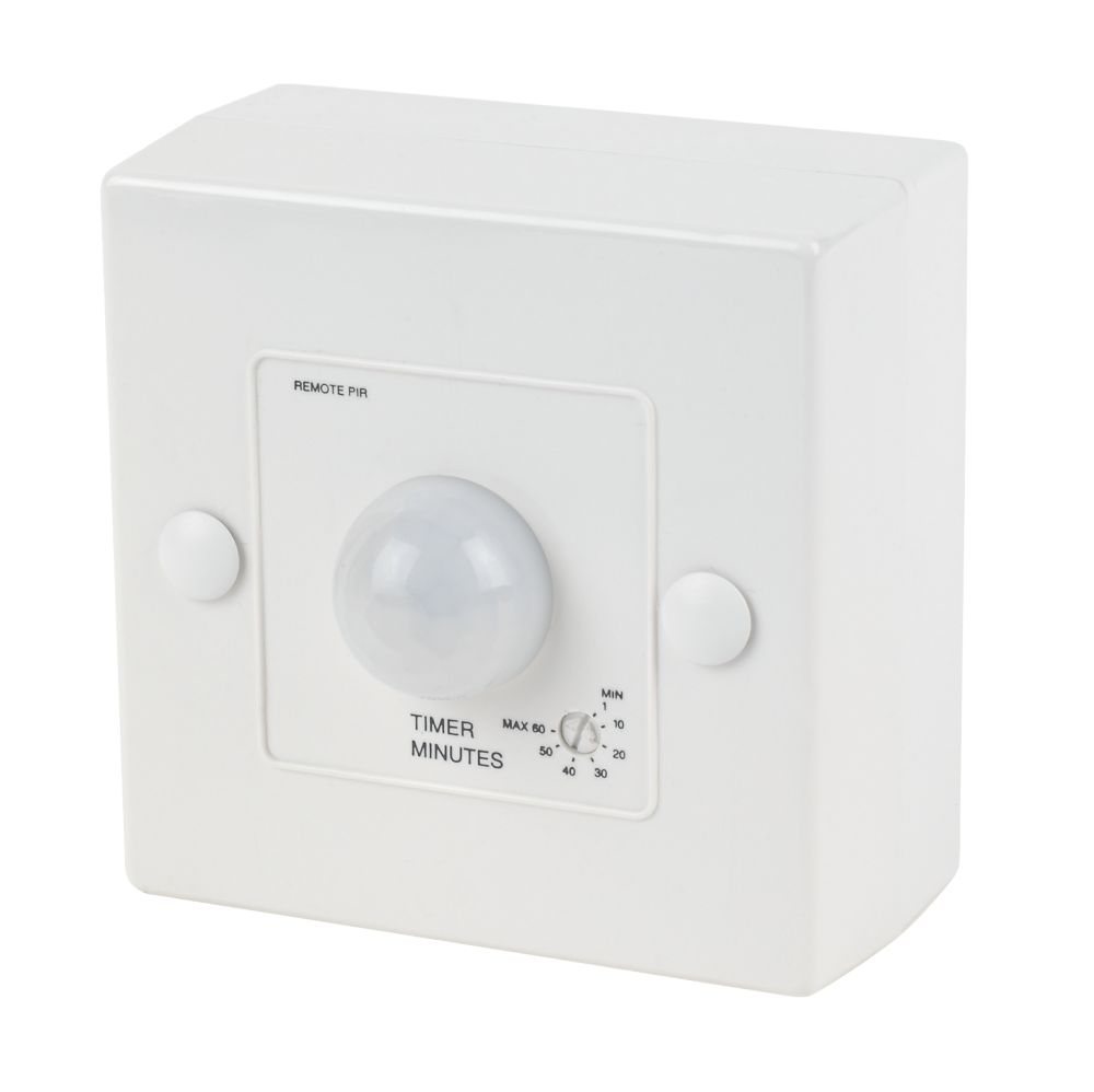 Image of Manrose 1362 Passive Infra Red Bathroom Fan Control with Timer