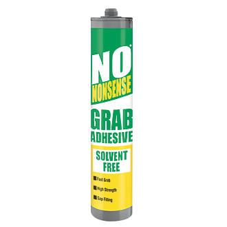Image of No Nonsense 11665502 Grab Adhesive Solvent-Free White 310ml