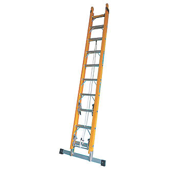 Image of TB Davies 2-Section Fibreglass Extension Ladders 5m