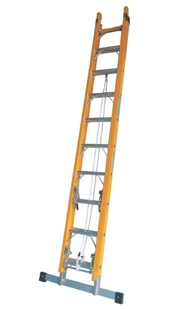 Image of TB Davies 2-Section Fibreglass Ladder 5m