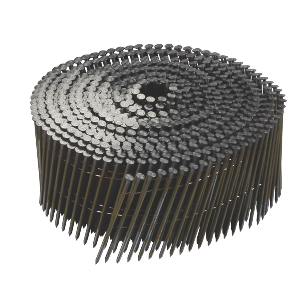 Image of DeWalt Galvanised Ring Shank Coil Nails x 55mm 14000 Pack