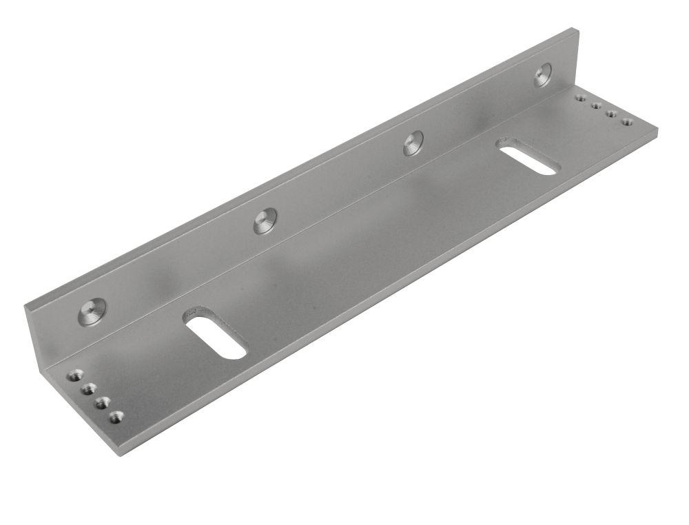 Image of Briton L Bracket for 9551 Magnetic Door Locks Silver