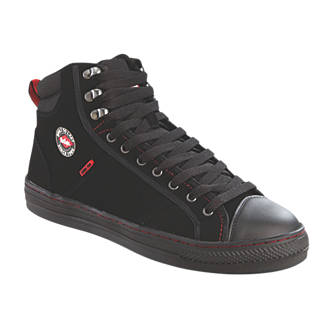 Image of Lee Cooper 022 Safety Trainer Boots Black Size 8