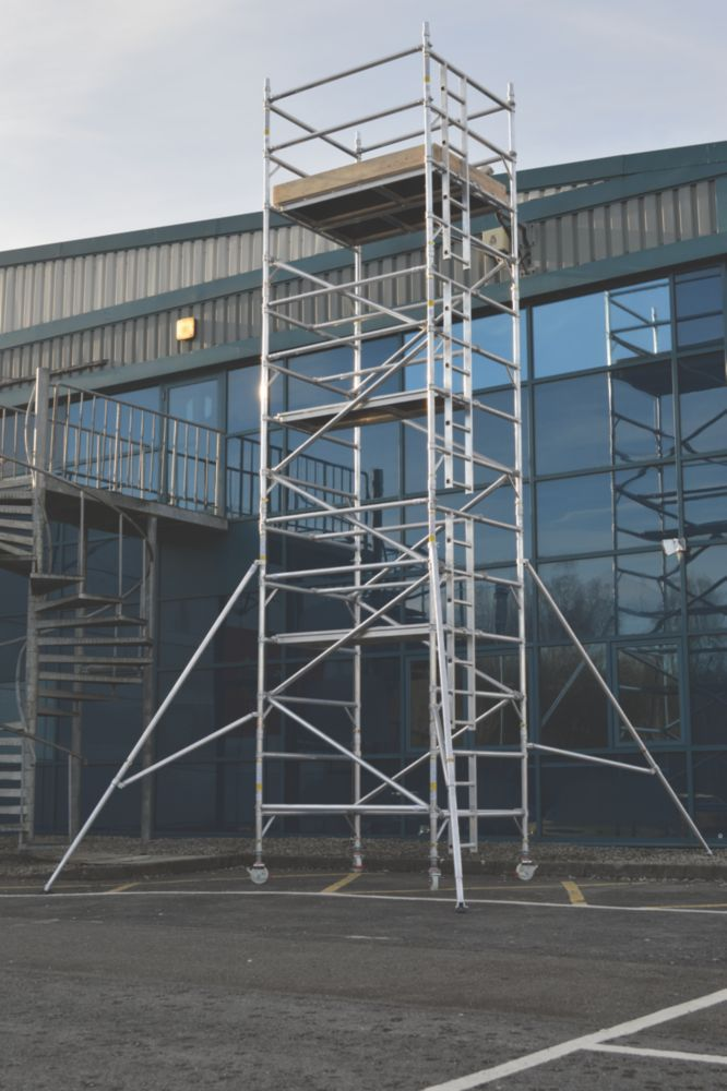 Image of Lyte SF18DW62 Helix Double Width Industrial Tower 6.2m