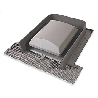 Image of Glidevale Universal Tile Ventilator Grey