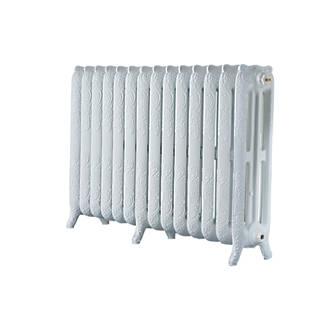 Image of Arroll 3-Column Cast Iron Radiator 760 x 1154mm White