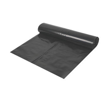 Image of Capital Valley Plastics Ltd Damp-Proof Membrane Black 1000ga 25 x 4m